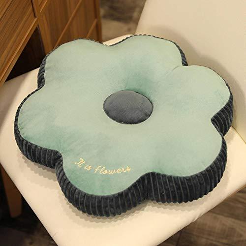 N\C Cute Donut Pillows Respaldo de Felpa Accesorios para Habitaciones de Oficina para niñas Cojín de Trabajo de Oficina Suave y cómodo Cojín Lumbar Cojín curativo Cojín para Silla Cojín