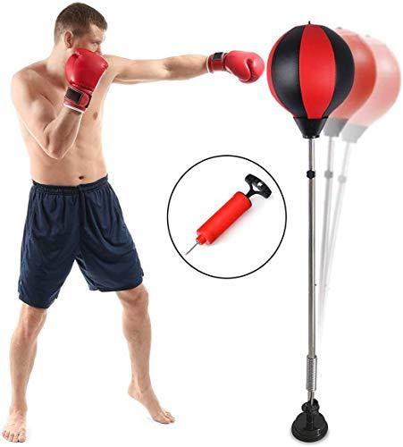 Qdreclod Punching Ball, Saco de Boxeo de pie, Bola de Veloci