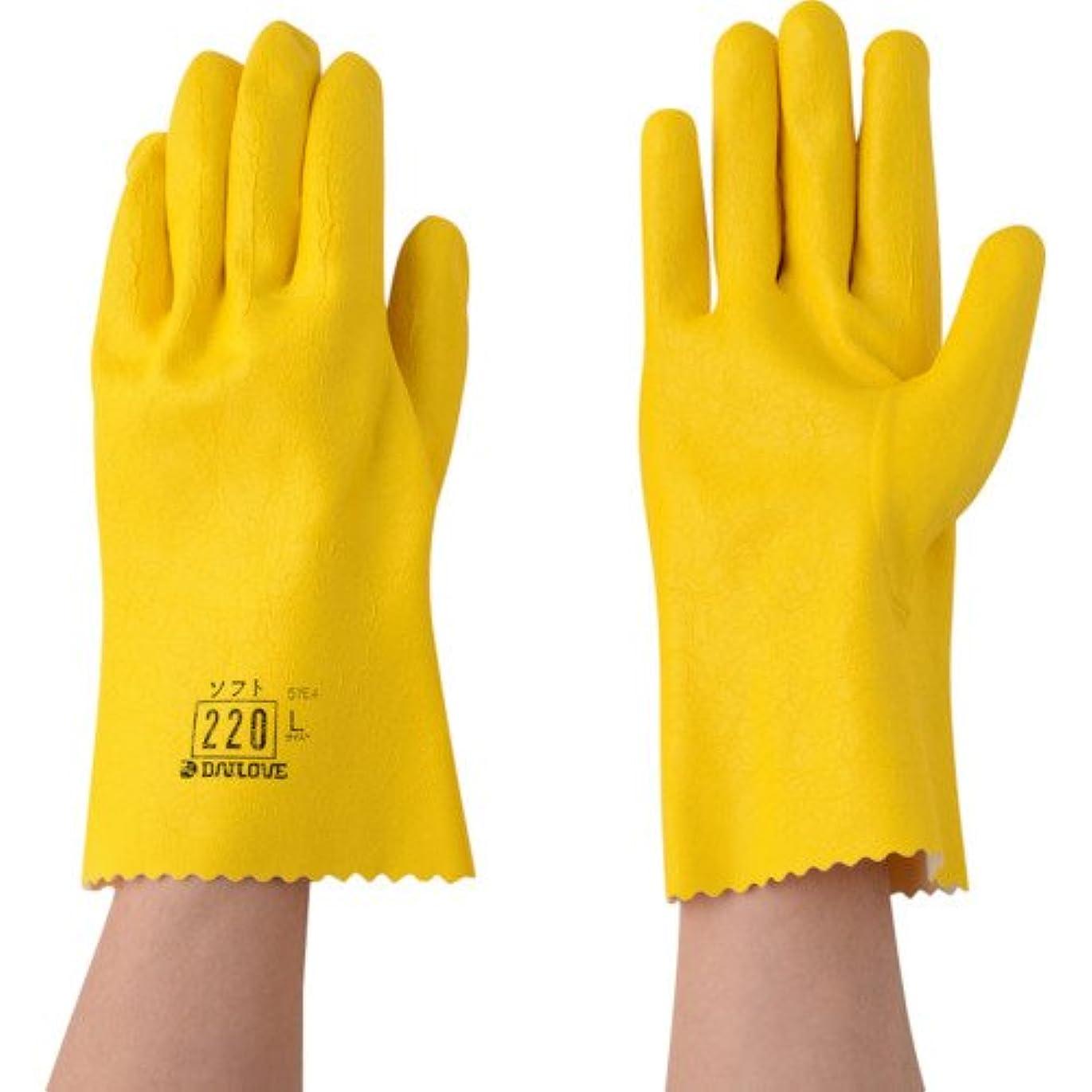 招待規則性圧力ダイヤゴム ダイローブ手袋 #220 Lサイズ 1双袋入