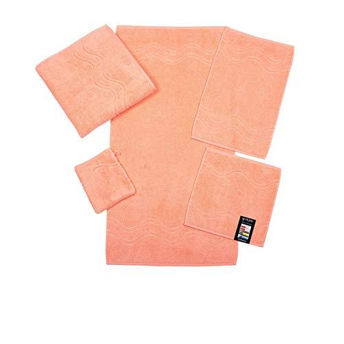 Ross Handtücher Cashmere Feeling 9008 Apricot - 68 Duschtuch 75x140 cm