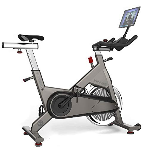 Spinning P3 Chain-Drive Spin Bike Includes Tablet Mount and Cadence Sensor