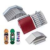 TECH DECK, Ultimate Street Spots Pack with 3 Fully Assembled Exclusive Boards, Coast to Coast Edition