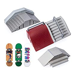 powerful TECH DECK, Ultimate Street Spots Pack with 3 dedicated boards fully assembled from coast to coast…
