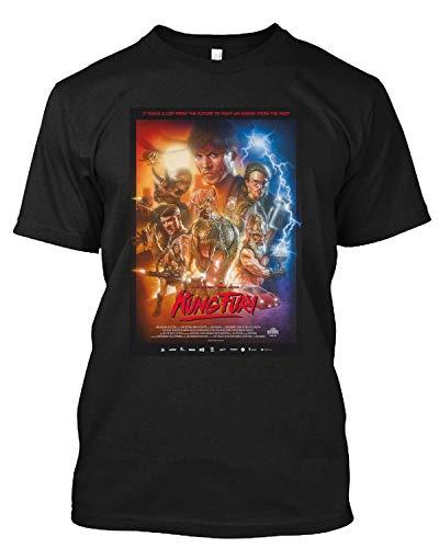 Kung Fury Mars Volta Old School Tv Movie Film T Shirt Gift Tee for Men Women