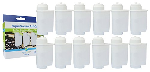 12x AquaHouse AH-CBI Kompatibel Filterpatrone für Kaffeevollautomat von Siemens, Bosch, Gaggenau, Neff, VeroBar TCZ7003 TCZ-7003 TCZ7033 467873