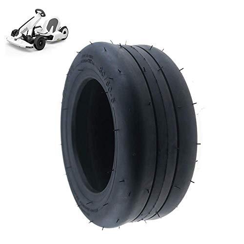 Neumático de Scooter eléctrico, neumático de vacío 80/60-5, Grueso y Resistente al Desgaste, Accesorios para neumáticos de Kart n. ° 9, 2 Piezas