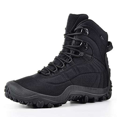 XPETI Men's Mid-Ankle Thermator Waterproof Tactical Boot