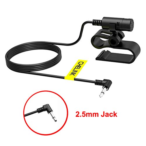 CHELINK Microphone Mic 2.5mm Jack for Car...