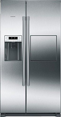 Siemens KA90GAI20 iQ500 Side-by-Side / A+ / 177 cm Höhe / 432 kWh / 359 Liter Kühlteil / 163 Liter Gefrierteil / no-Frost-Technik gegen Eis- und Reifbildung