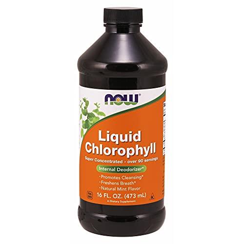Now Foods, flüssiges Chlorophyll (dreifache Stärke), 473ml