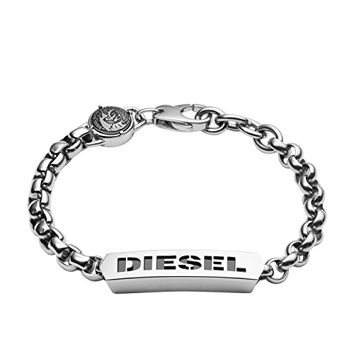 Diesel Pulsera de Hombre con Acero Inoxidable