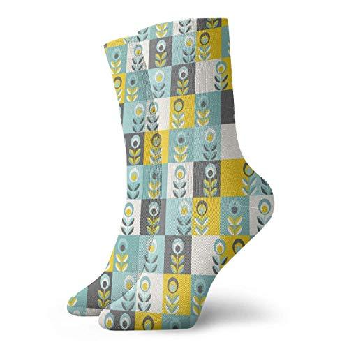 Kevin-Shop Calcetines Casuales de Tobillo Alto, Estampado de Estilo de Dibujos Animados...