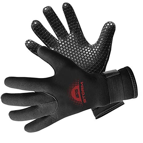 BPS 3mm & 5mm Double-Lined Neoprene Wetsuit Gloves