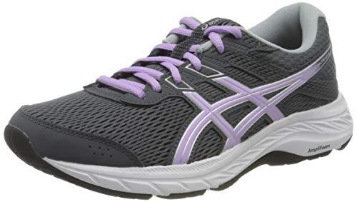 ASICS Women's Gel-Contend 6 Running Shoe, Carrier Grey Lilac Tech, 3.5 UK