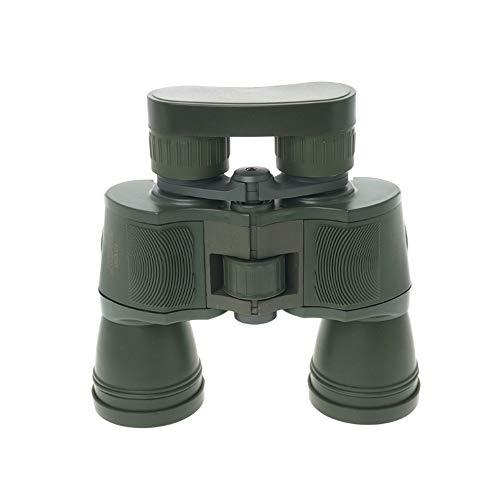 WNSS9 10x50 Leistungsstarke Militärbinokel 1000M Hohe Klarheit optische Glas-HD Binocular Telescope schwaches Licht Nachtsicht for Outdoor-Jagd, Konzerte und Star zuschauen (Armee-Grün)