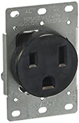 Heavy-gauge, double-wipe Copper alloy contacts Easy-to-wire terminals accept up to no. 4 AWG conductors Terminals marked for easy identification and fast wiring All mounting hardware included Do not use with single-gang wallboxes, single-gang mud rin...