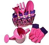 XOCKYE Multi Purpose Tool Bag Easy To Carry And Foldaway Children Gardening Set Tools Durable Garden Play Game...