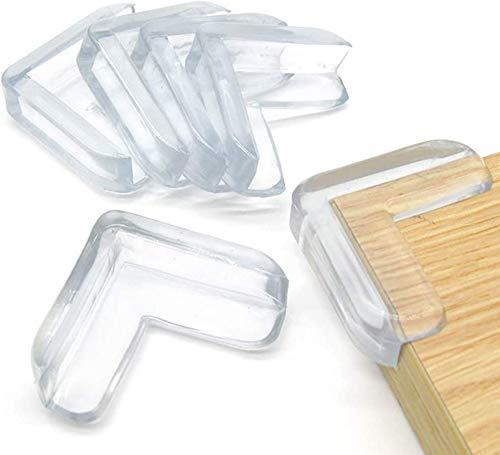 Faburo Eckenschutz für Baby Sicherheit 16PCS Eckenschutz Kantenschutz Transparent Extra Weich für Tisch Möbel Ecken