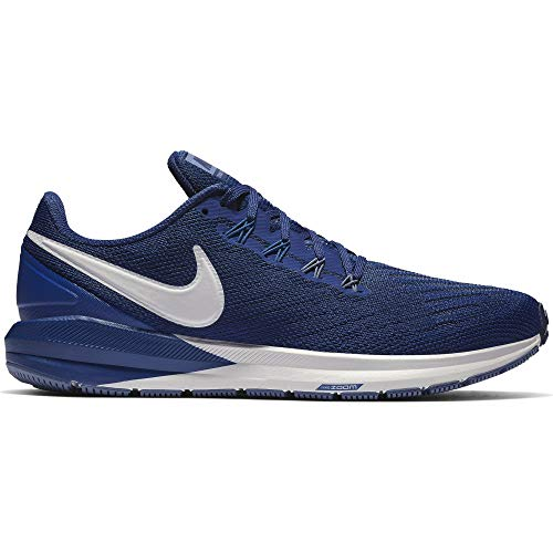 Nike Men's Air Zoom Structure 22 Running Shoe Blue Void/Vast...