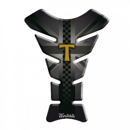 KEITI Paraserbatoio Moto Tank Pad Sticker Adesivo TTR703 Triumph