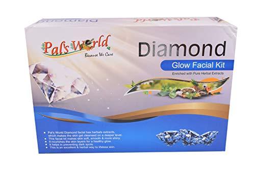 Pal's World Diamond Glow Facial kit/Glowing Skin/All Type Skin Solution