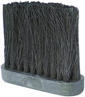 Uniflame Tampico Fireplace Broom Replacement Brush Head, 4-Inch