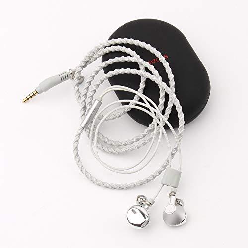 Auriculares URIZONS Auriculares con Cable y Micrófono En Oreja Estéreo, Control Remoto para Móvil, Reproductor de MP3 Huawei XiaoMi iPhone 6 6s Smartphones