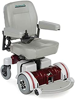 Hoveround Electric Wheelchair - Motorized Power Chair and Mobility Scooter | LX-5 Red Trim, 18-inch Adult Seat