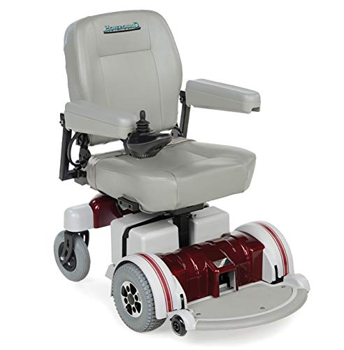 Buy Discount Hoveround Electric Wheelchair - Motorized Power Chair and Mobility Scooter | LX-5 Red T...