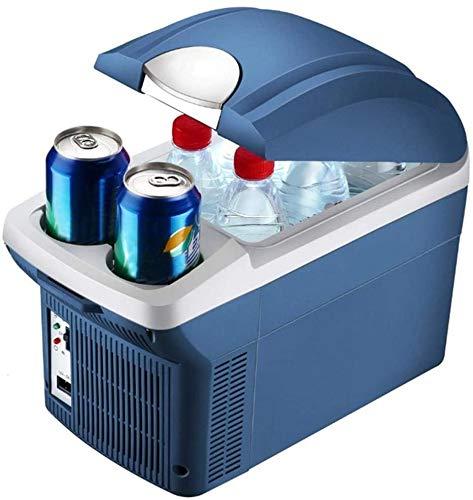 Xyfw Elektrische Kühlbox Gefrierbox, Mini Kühlschrank Gefrierschrank, Tragbare Auto Absorber-Kühlbox 8 Liter Kompressor-Kühlbox