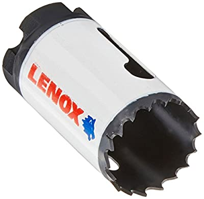 LENOX Tools Bi-Metal Speed Slot Hole Saw with T3 Technology, 1-1/4""