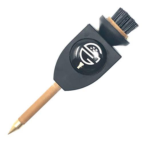 Skinny Golf Stixpick Divot Tool Magnetic Ball Marker Club Brush Groove Cleaner