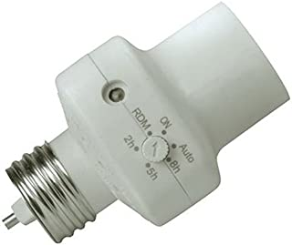 Woods 59406WD Indoor Light Control Socket with Photocell Timer