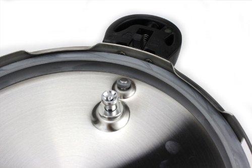 パール金属圧力鍋5.5LIH対応3層底切り替え式レシピ付クイックエコH-5042フラストレーション・フリー・パッケージ発送