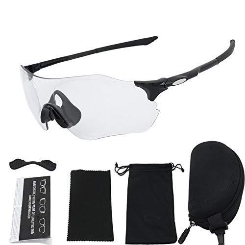 WY-YAN 4pcs / Set Protector de UV Gafas Ciclismo Hombres y Mujeres Deportes al Aire Libre a Prueba de Viento Operando Riding Mountain Bike - Equipo Rojo