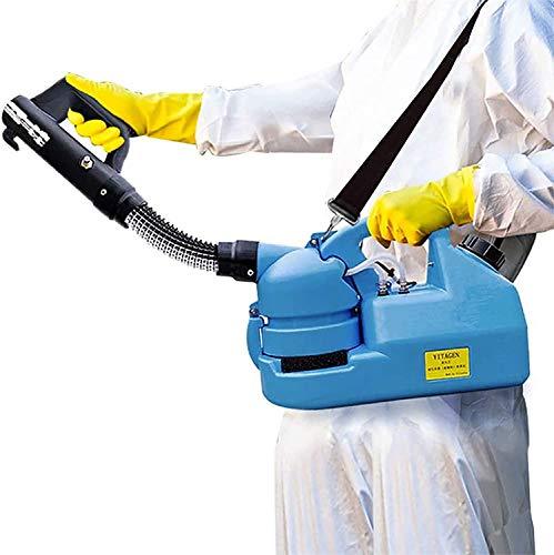 4YANG Electric ULV Sprayer 7L Ultra Capacity Spray Machine, Fogger Atomizer Sprayer Adecuado para desinfección/esterilización de áreas Grandes en hospitales, escuelas, centros comerciales