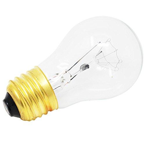 Replacement Light Bulb for Frigidare LGEF3043KF, Frigidare FFGF3047LSF, Frigidare FFEF3048LSM, Frigidare FFEF3015LSM, Frigidare FFEF3043LSK, Frigidare LFEF3011LBD, Frigidare FGF348KCN