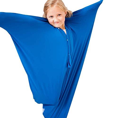 iBaste Sensory Sox Dehnbare Körpersocken für den ganzen Körper, Sensory Body Sock Body Wrap Atmungsaktiver Sack für den Stressabbau bei Kindern