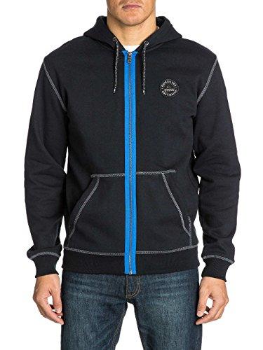 Quiksilver Sweatshirt Trews - Sudadera para Hombre, Color Negro, Talla 3XL