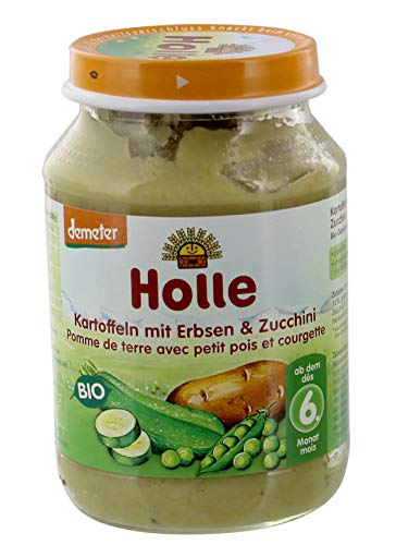 Holle Bio Kartoffeln mit Erbsen & Zucchini (1 x 190 gr)