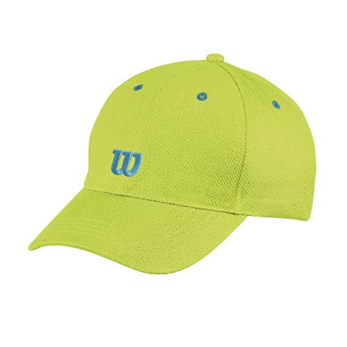 Wilson Jugend Cap, YOUTH TOUR W CAP, Baumwolle, Grün (Lime Popsicle), Einheitsgröße, WR5008002