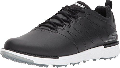 Skechers 2018 Herren GO Golf Elite V3 - Leder Golfschuhe - Wasserdicht 54523 Black/White 9UK