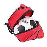 Alomejor Sport Balltasche Rucksack Tragbare Einzelne Umhängetasche für Basketball Fußball