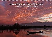 Burmesische Impressionen (Wandkalender 2022 DIN A2 quer): Impressionen einer Reise durch Myanmar (Monatskalender, 14 Seiten )