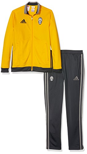 adidas Kinder Juventus Turin Trainingsanzug, Collegiate Gold/Dark Grey/Ch Solid Grey, 176