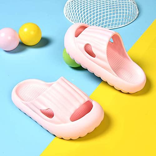 Tension 2021 EVA Thick Sole Sandals Slippers for Baby Boys Girls Slides Slippers,Summer Slip On Shoes Shower Bathroom Slipper Pillow Slides