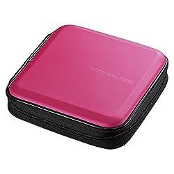 professional SANWA (Japanese brand) 24-capacity CD case, portable DVD / VCD storage, Blu-ray EVA protected folder, …