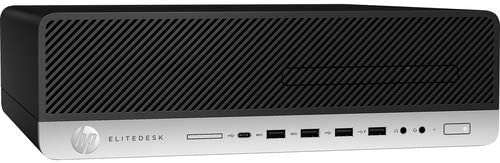 HP EliteDesk 800 G4 Desktop Computer Intel Core i5 8500 8GB RAM 256GB SSD Windows 10 Pro 64 product image