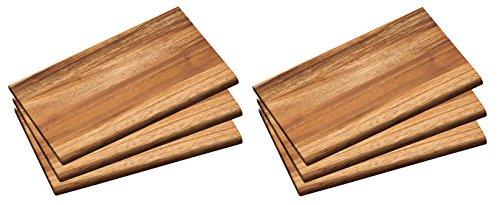 Kesper 6x 6 Holz Akazie Essbrett Bild