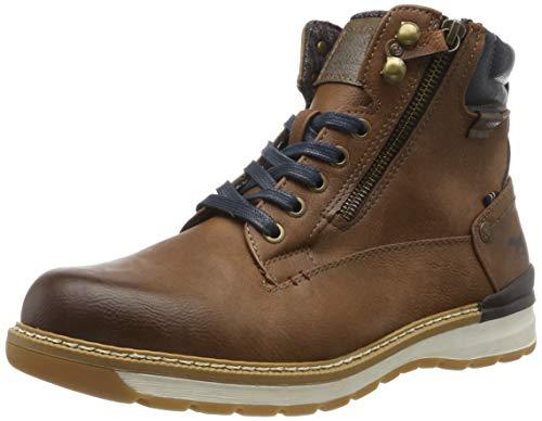 MUSTANG Herren 4141-502-360 Klassische Stiefel, Braun (Mittelbraun 360), 45 EU